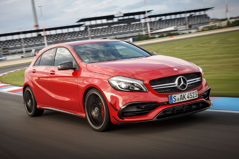 2016 Mercedes-AMG A45 4Matic Review 1
