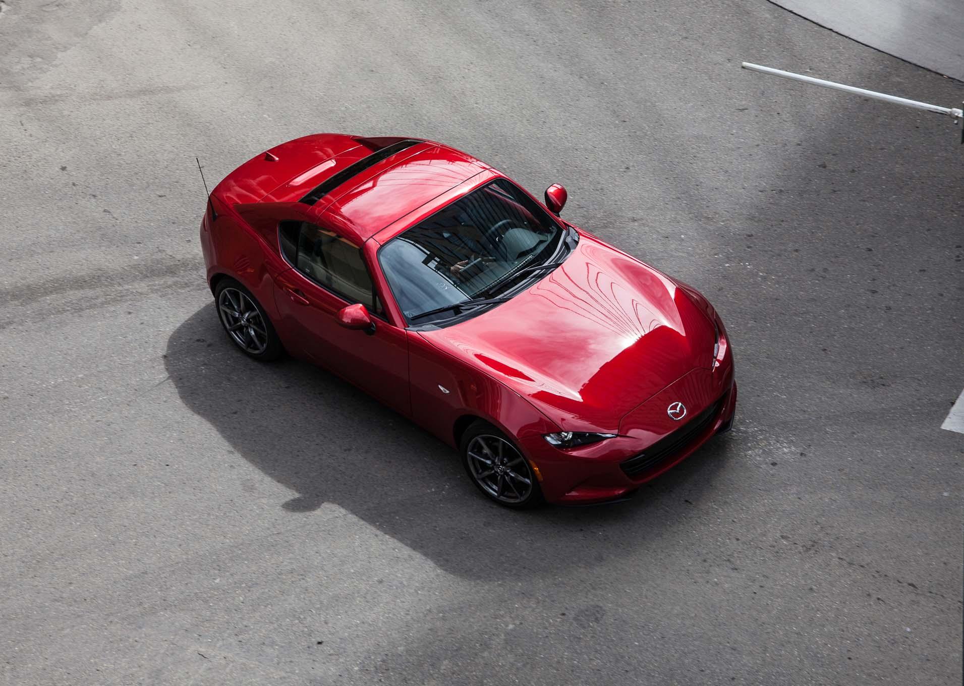 First Drive 2017 Mazda Mx 5 Miata Rf Rims And Tires Mag