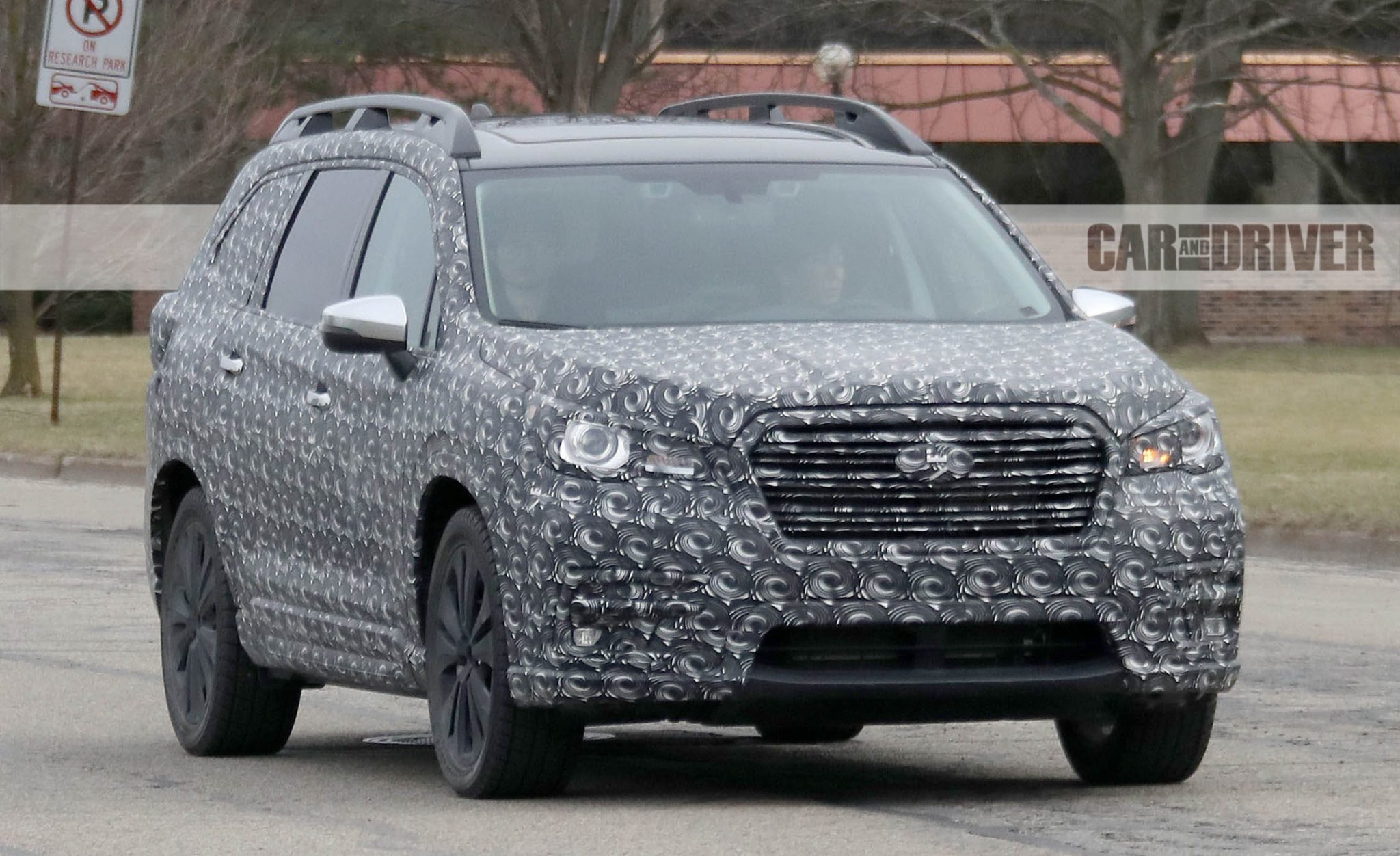 2018 Subaru Ascent Spied: The Three-Row Subie Comes into Sharper Focus