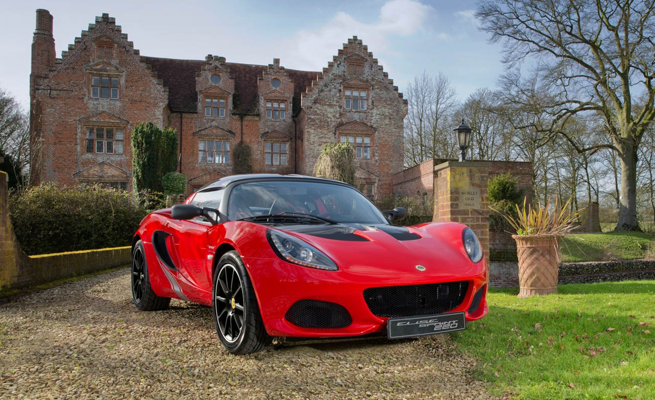 Lotus Elise Sprint: Because You Can Always Go a Little Lighter