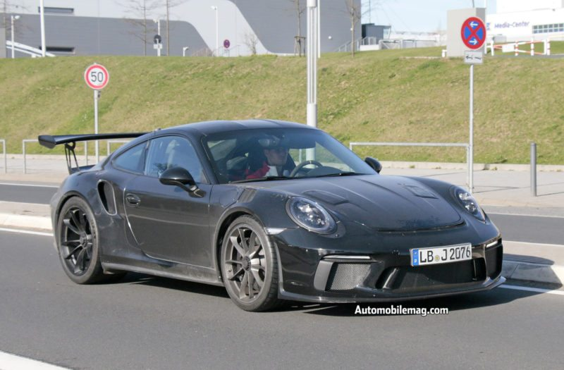 2018 Porsche GT3 RS and GT2 RS Spied