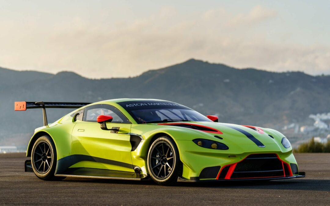 Aston Martin Unveils Vantage GTE Racer