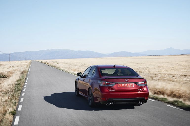 2016 Lexus GS F Review 1