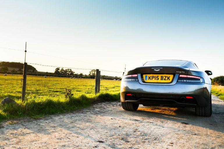 2016 Aston Martin DB9 GT Review