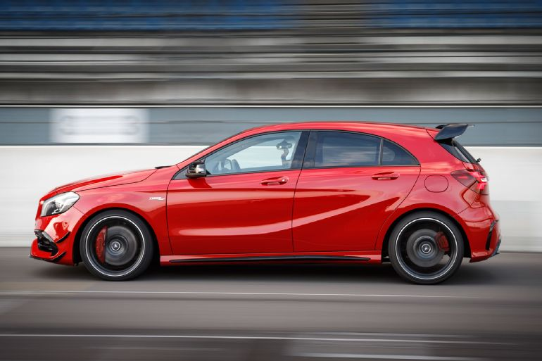 2016 Mercedes-AMG A45 4Matic Review 4