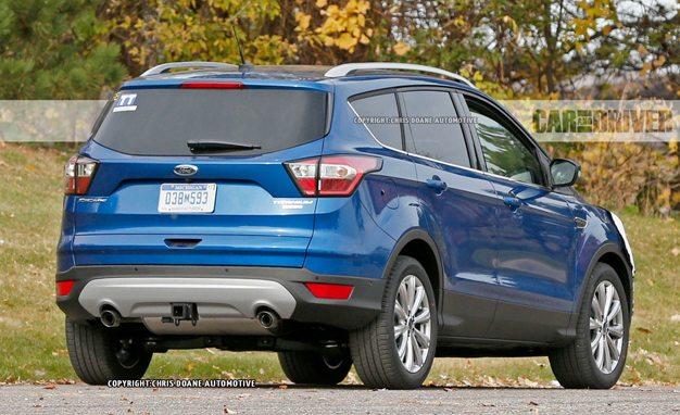 2017 Ford Escape Spy Photos: A Thorough Refresh Has It Getting Edge-ier 1