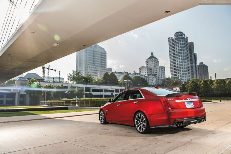 Alive and Kicking: 2016 Cadillac CTS-V Review