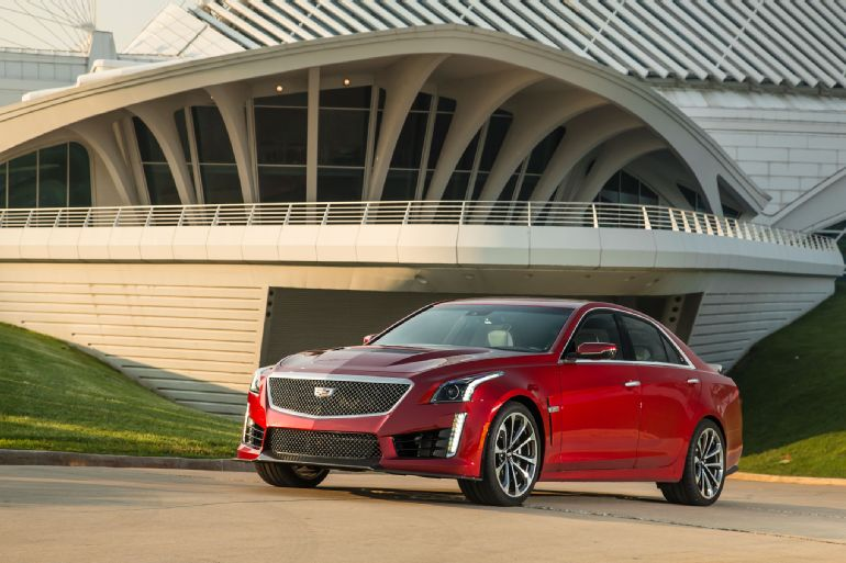 Alive and Kicking: 2016 Cadillac CTS-V Review 10