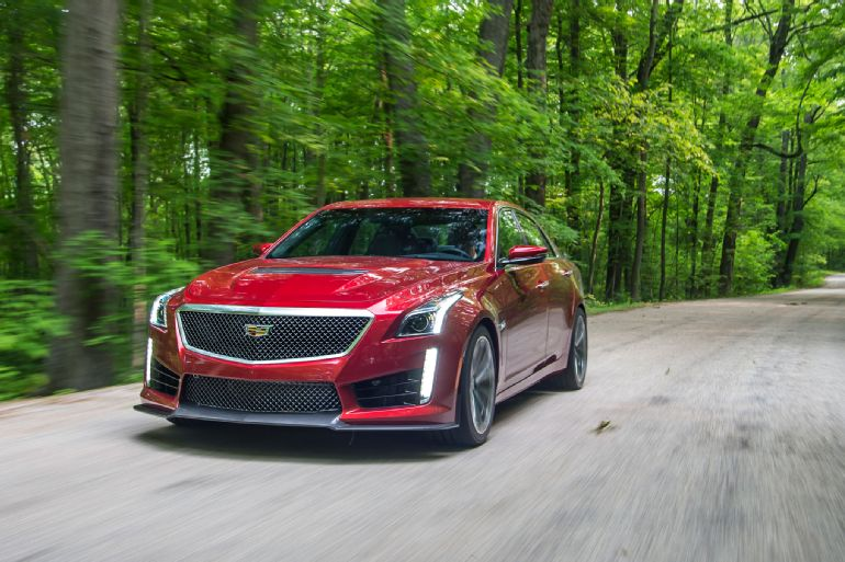 Alive and Kicking: 2016 Cadillac CTS-V Review 2