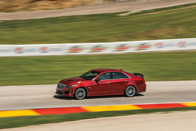 Alive and Kicking: 2016 Cadillac CTS-V Review 7
