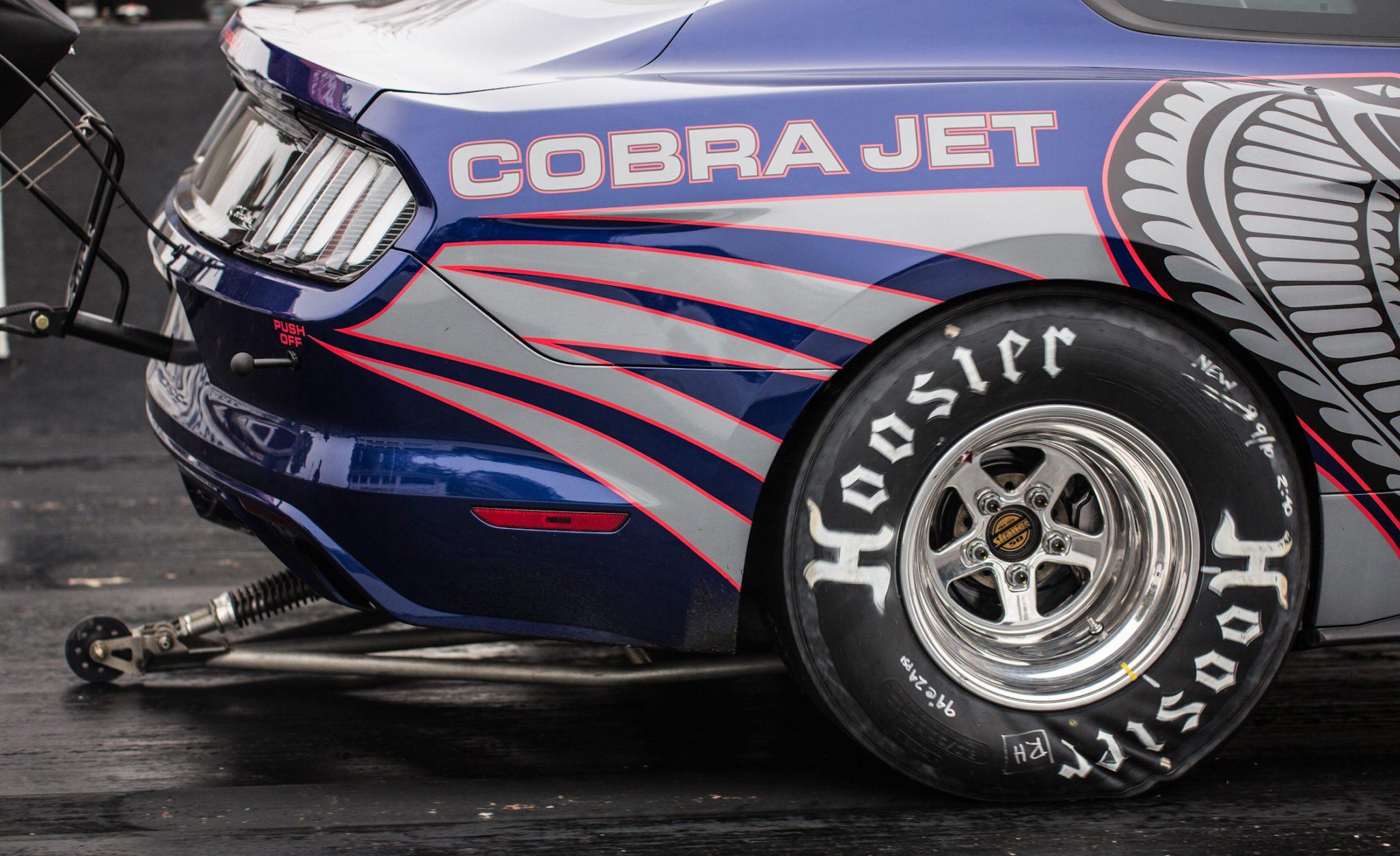 COBRA JET! LA-LA-LA-LA-LA: Ford Debuts New Cobra Jet Mustang Drag Car 1
