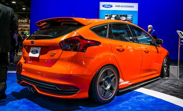 Four From Which to Crank the Krokus: Ford Focus STs at SEMA 2015