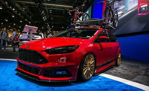 Four From Which to Crank the Krokus: Ford Focus STs at SEMA 2015 1