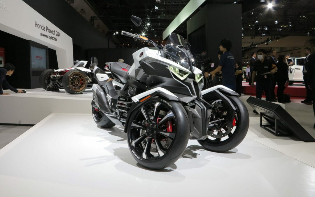 Neo Knights: Honda's Neowing Concept Is a Hybrid Leaning Trike