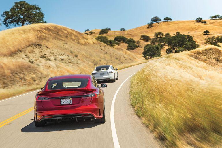 Shock Jocks: Tesla Model S P85D and Saleen GTX Comparison