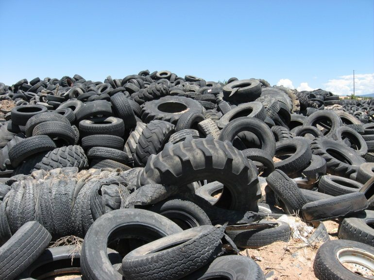 Where old tires go – tire recycling
