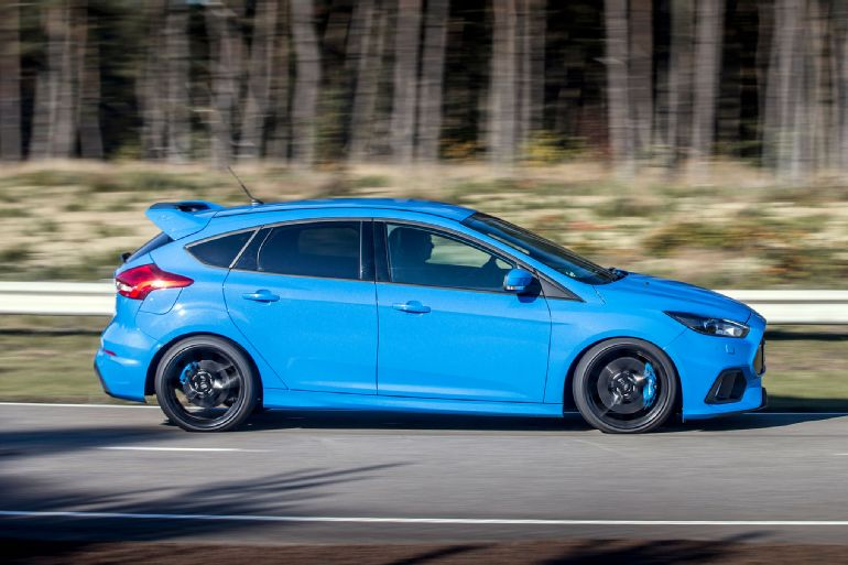 2016 Ford Focus RS Euro-Spec Track Drive 1