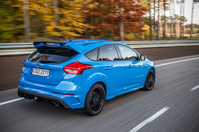 2016 Ford Focus RS Euro-Spec Track Drive 3