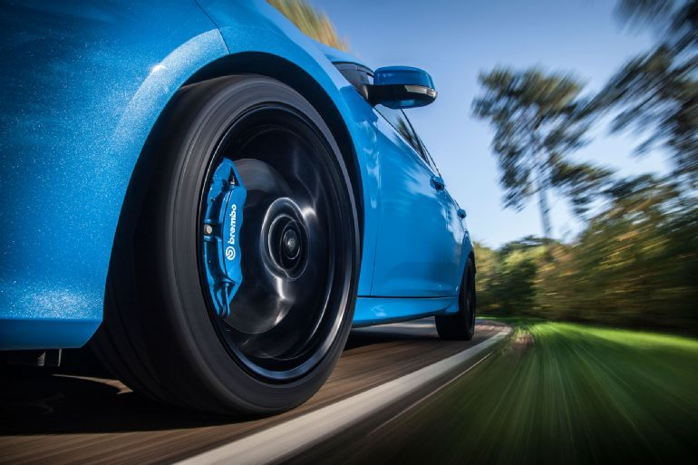 2016 Ford Focus RS Euro-Spec Track Drive 5