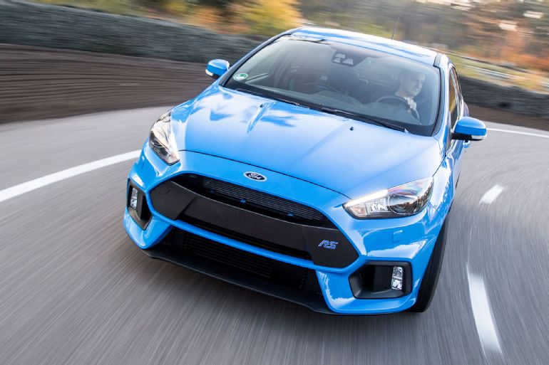 2016 Ford Focus RS Euro-Spec Track Drive 6