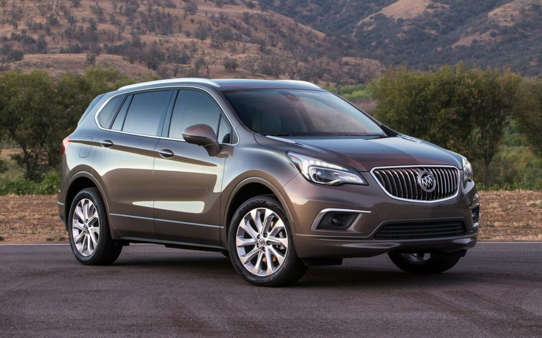 Orientation: 2016 Buick Envision SUV to Be Imported to U.S. from China Next Summer