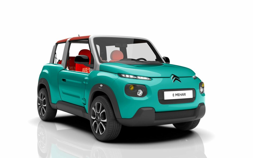 The French Turn on the Weird, Slate It For Production: Citroën's E-Mehari