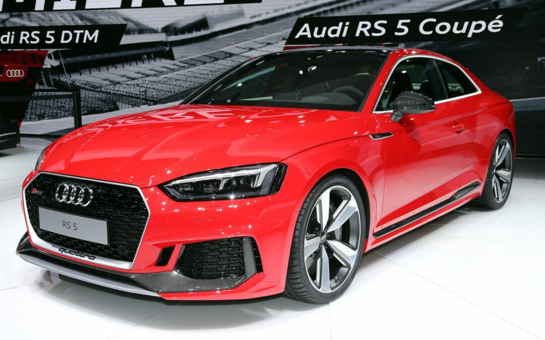 2018 Audi RS5 Debuts with Fewer Cylinders, Angrier Styling