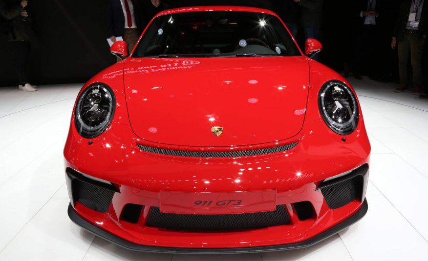 Porsche GT Boss: A Mid-Engined 911 Is a Possibility