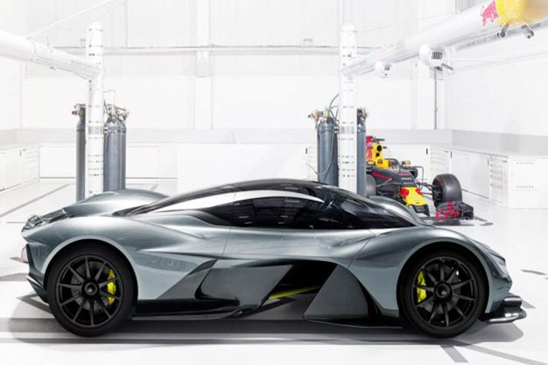 Aston Martin's Sub-Valkyrie Mid-Engined Supercar May Spawn an Entire Range