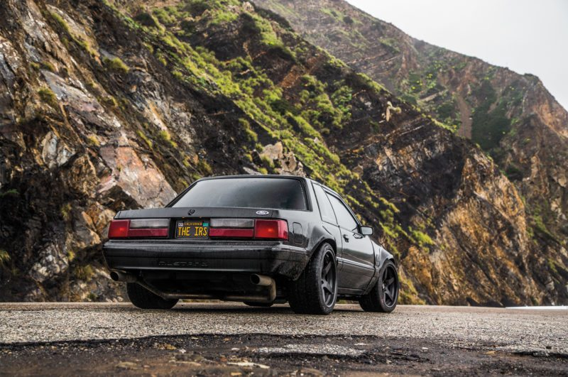 1988-Ford-Mustang-LX-5-0-SSP-rear-three-quarter