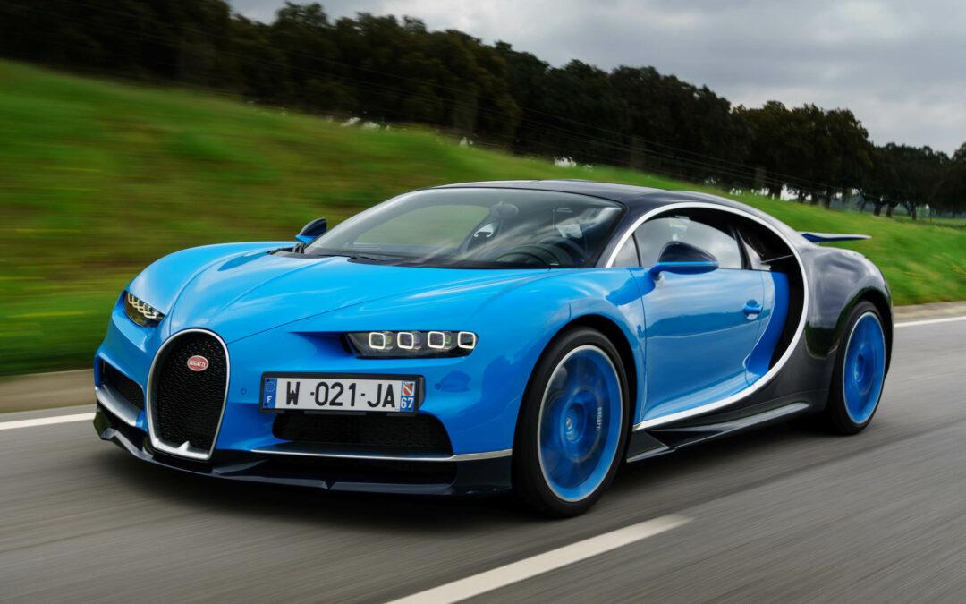 2017 Bugatti Chiron Driven! Holy Mother of—!