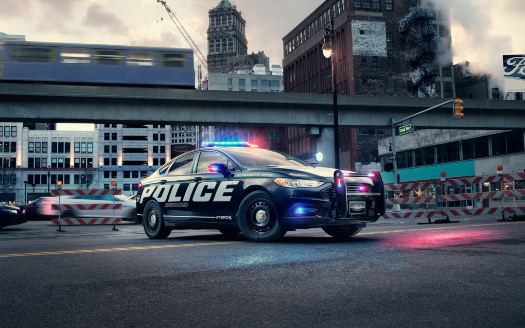 Ford Now Offers a Pursuit-Rated Fusion Hybrid Cop Car for Extremely Boring Pursuits