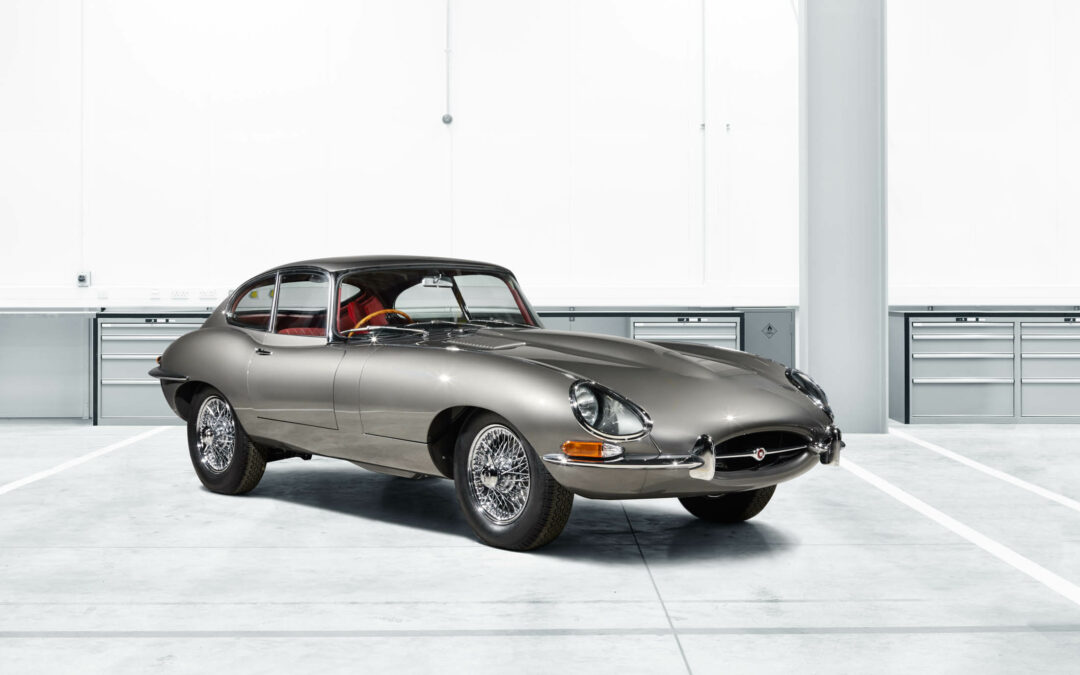 Groovy, Baby! Jaguar Puts the E-type Back into Production (Sort Of)